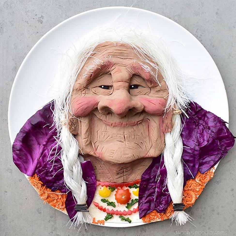 Bà mẹ gây sốt với những món ăn đẹp đến mức khiến ai nhìn cũng không chớp mắt-16