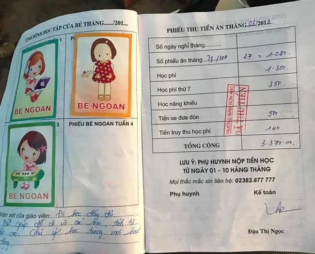 Vụ bé 5 tuổi bị đuổi học vì nợ tiền học phí: Bố cháu bé đến trường đe dọa và buộc kế toán đóng dấu dù không đóng tiền-5