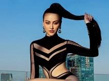 Hoa hậu Phương Khánh khoe ảnh bikini gợi cảm trên nhà cao tầng