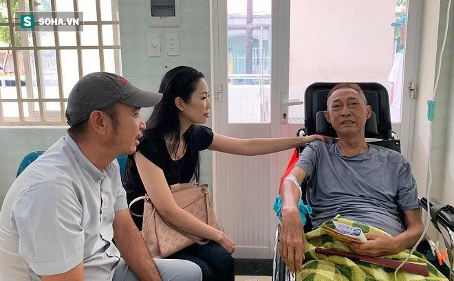 Nghệ sĩ Lê Bình bị hoại tử thân dưới nghiêm trọng, không ăn được và nói chuyện khó khăn-1