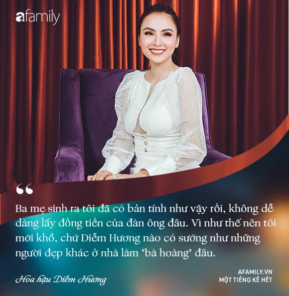 Hoa hậu Diễm Hương: Chồng nào cũng bảo nếu em đừng làm ra tiền thì đã dễ dạy hơn-17