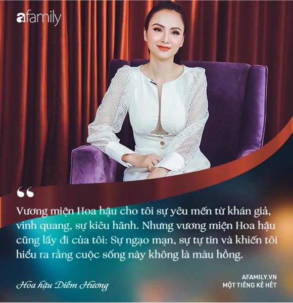 Hoa hậu Diễm Hương: Chồng nào cũng bảo nếu em đừng làm ra tiền thì đã dễ dạy hơn-9