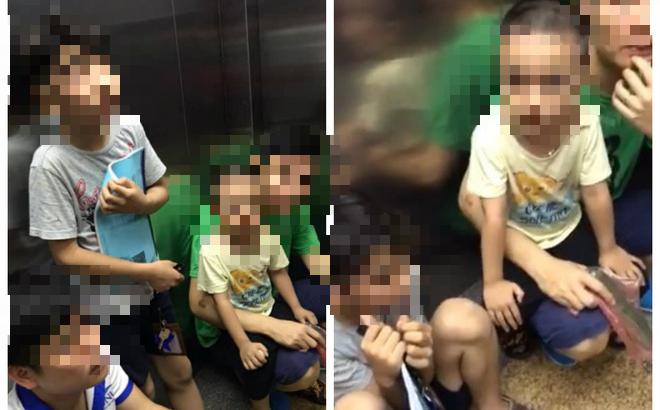 Thang máy chung cư Tân Tây Đô bất ngờ dừng hoạt động, 6 người dân bị giam tới 45 phút-1