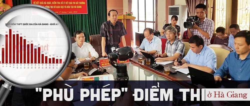 Nhiều thí sinh Hà Giang, Sơn La được nâng điểm là con em lãnh đạo đương nhiệm-1
