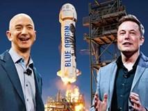 """Elon Musk """"đá đểu"""" ông chủ Amazon là"""