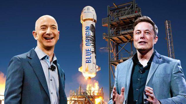 """Elon Musk đá đểu"""" ông chủ Amazon là kẻ sao chép-1"""