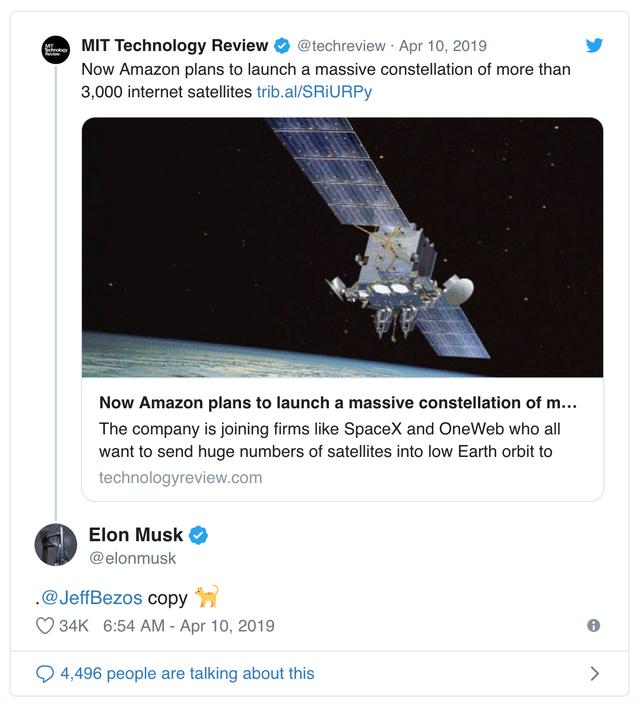 """Elon Musk đá đểu"""" ông chủ Amazon là kẻ sao chép-2"""