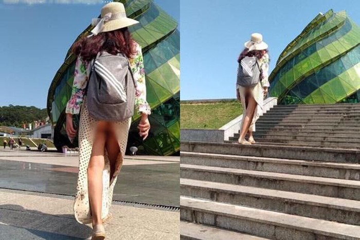 NÓNG MẮT với những bộ trang phục hớ hênh khi ra đường của các chị em phụ nữ-2