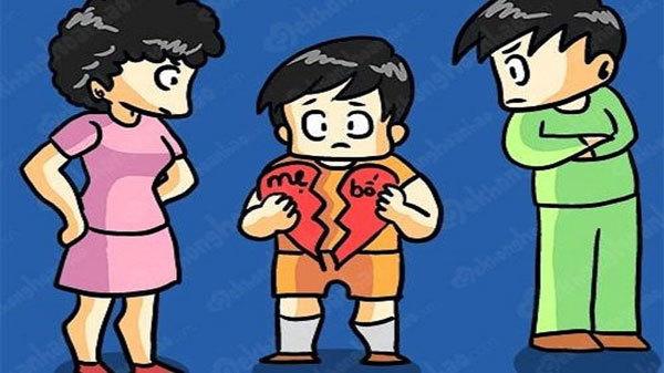 Ứng xử khi ly hôn, đừng biến con thành nạn nhân-1