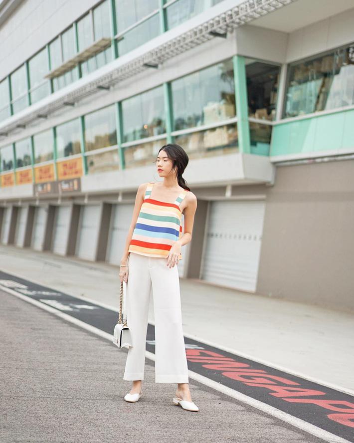 Tham khảo 15 set đồ này của các quý cô Châu Á để không bỡ ngỡ khi thời tiết mới chớm hè-12