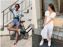Tham khảo 15 set đồ này của các quý cô Châu Á để không bỡ ngỡ khi thời tiết mới chớm hè