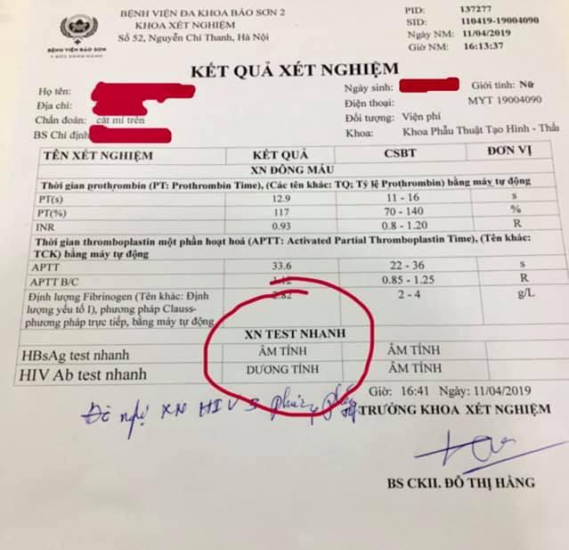 Khám chữa cho bệnh nhân thẩm mỹ mắt hỏng tại spa, bác sĩ đau xót khi phát hiện cô gái dương tính với HIV-2