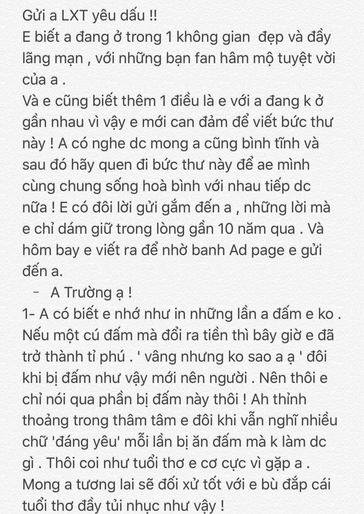 Văn Toàn viết tâm thư cho Xuân Trường: Nếu mỗi cú đấm của anh đổi ra tiền thì em đã thành tỉ phú-1