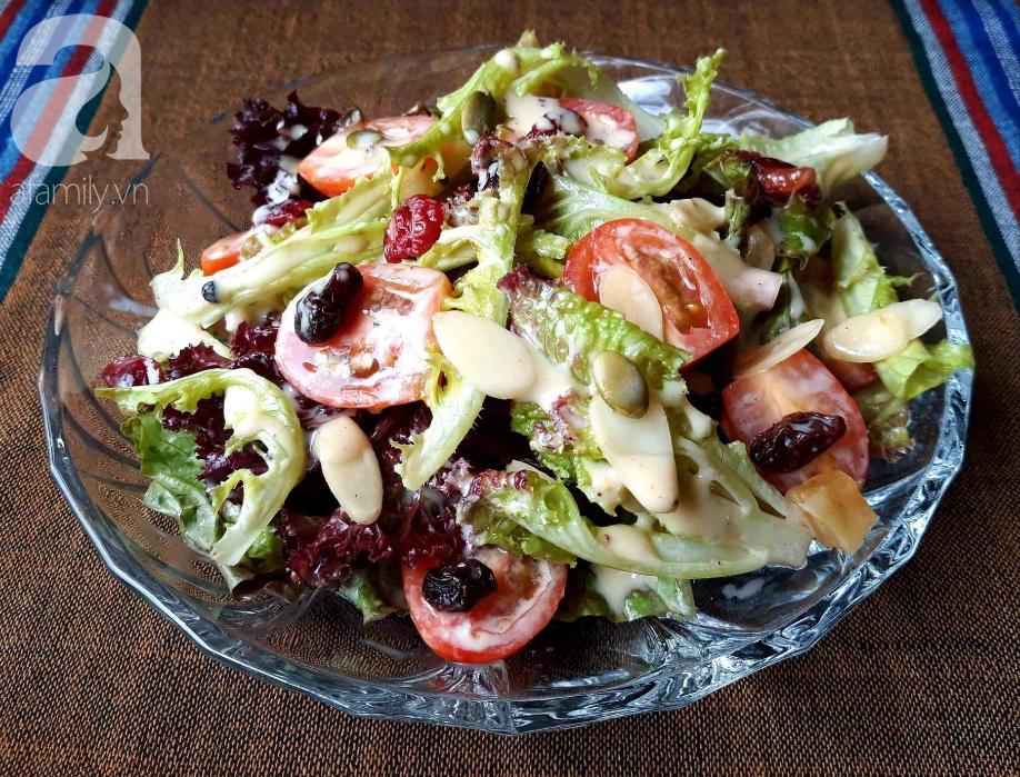 Có công thức xốt trộn salad đa năng này, bạn ăn món salad nào cũng ngon miễn bàn!-5