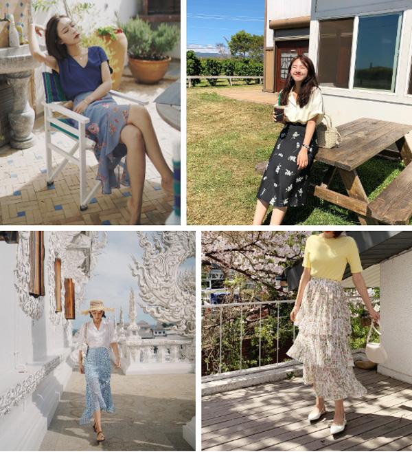 Chân váy hoa hè 2019 xinh đến mức có thể khiến bạn tiếc nuối khôn nguôi nếu không sắm ngay cho mình-2