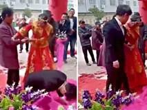 Cô dâu bị nhà chồng dùng roi đánh túi bụi ngay trong lễ cưới