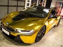 Ngắm BMW i8 'mạ vàng' của dân chơi Sài Gòn