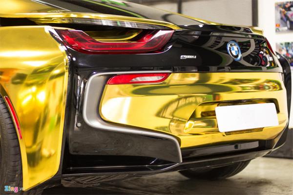 Ngắm BMW i8 mạ vàng của dân chơi Sài Gòn-3