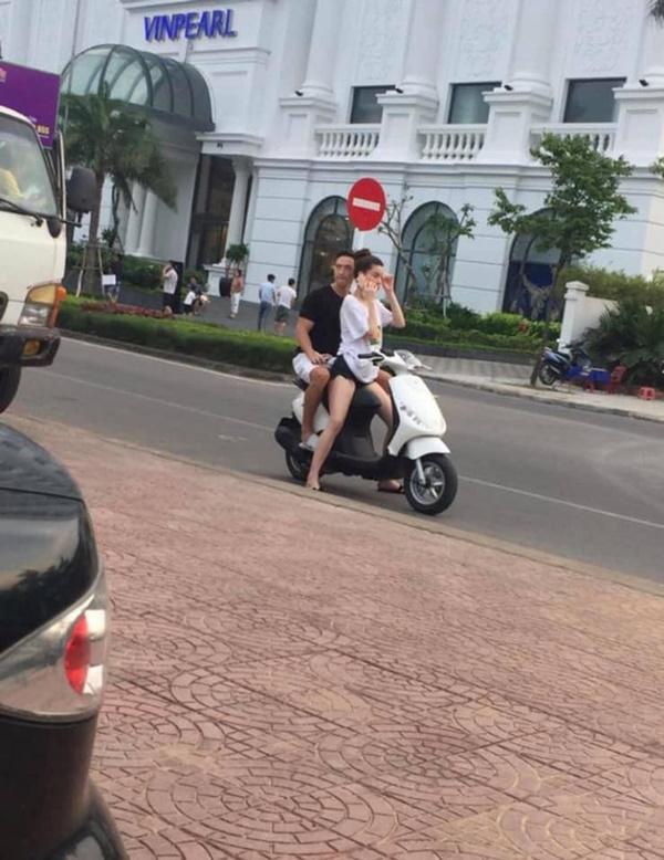 Hồ Ngọc Hà chở Kim Lý bằng xe máy mà không đội mũ bảo hiểm gây tranh cãi-2