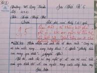 Bài văn 9.5 điểm xuất sắc từ nội dung đến chữ viết, khiến giáo viên 'bất lực' khi viết lời phê