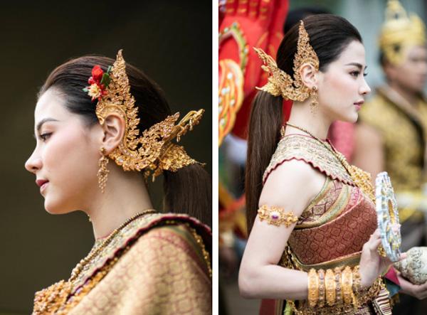 Dân tình náo loạn với nhan sắc cực phẩm của nữ thần Thungsa trong lễ Songkran 2019 tại Thái Lan-2