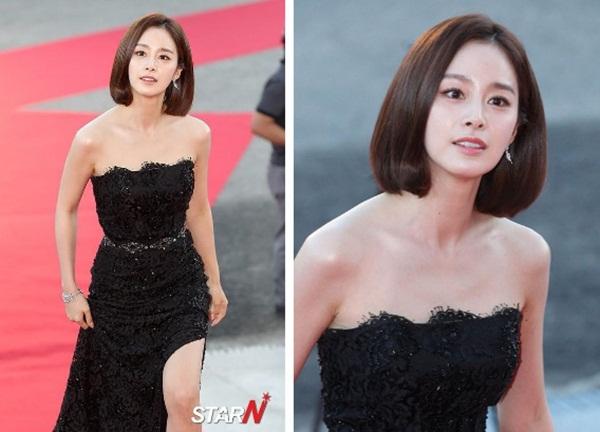 Vẻ đẹp của Kim Tae Hee: Từ nữ thần đại học đến biểu tượng nhan sắc, cả cái bóng phản chiếu trên tường cũng thừa sức gây sốt-11
