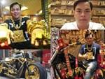 Người đàn ông gây sốt với cặp vòng tay hình 12 con giáp cùng nhiều trang sức khủng làm từ... vàng-1