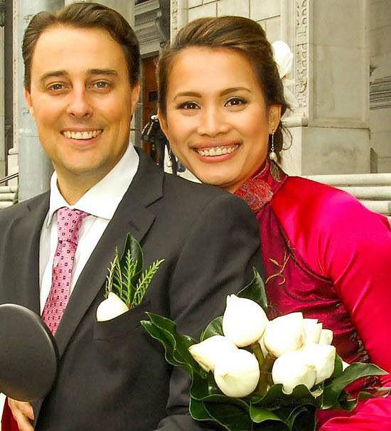 Bỏ hào quang sang Mỹ, Hoa hậu Ngọc Khánh viên mãn sống đời giản dị, trồng nho phụ chồng-4