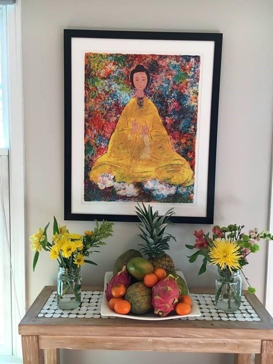 Bỏ hào quang sang Mỹ, Hoa hậu Ngọc Khánh viên mãn sống đời giản dị, trồng nho phụ chồng-10