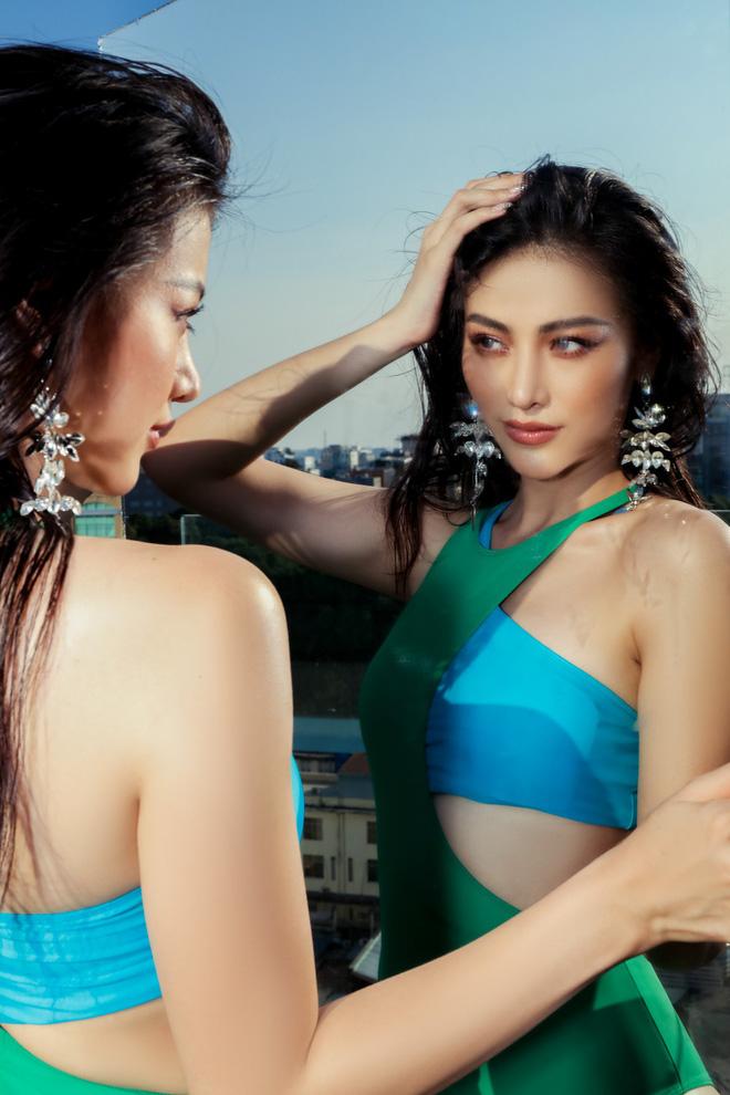 Hoa hậu Phương Khánh tung loạt ảnh mặc bikini nóng bỏng-12