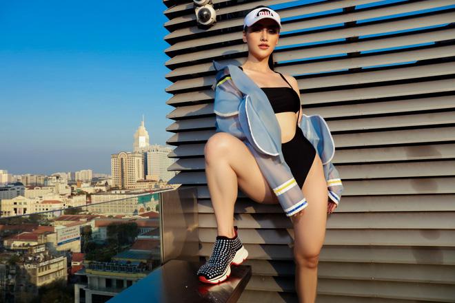 Hoa hậu Phương Khánh tung loạt ảnh mặc bikini nóng bỏng-9