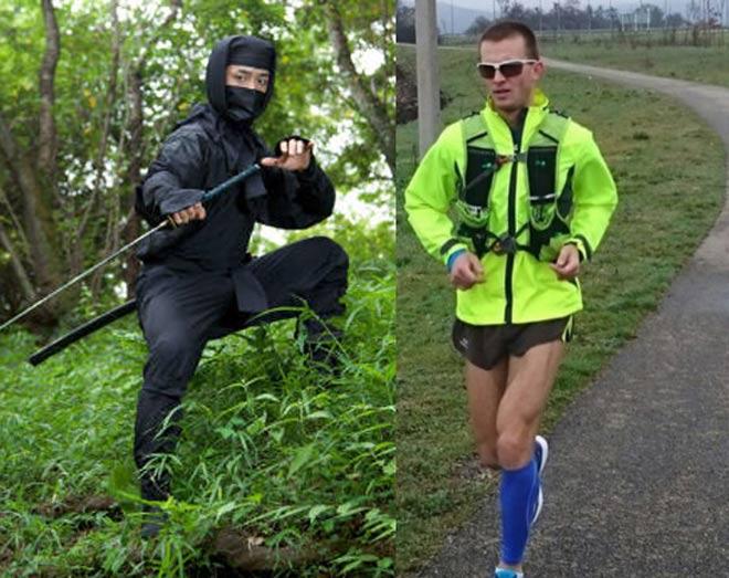 Ninja Nhật Bản cũng khiếp vía: Chàng trai chạy 560km trong 3 ngày-1