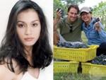 Hoa hậu Ngọc Khánh: Sau những cuộc tình lầm lạc đã chọn cuộc sống nông thôn, trồng cây nhặt cỏ bên người chồng ngoại quốc-9