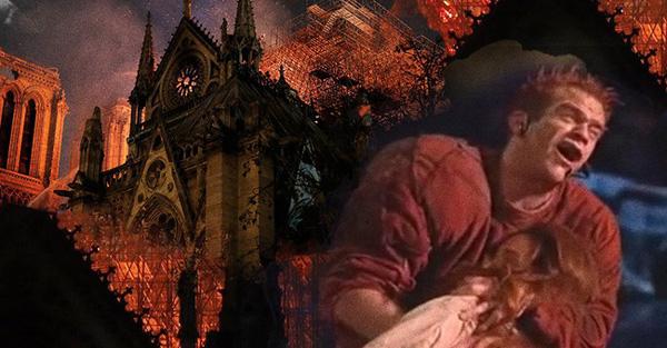 Đã từng có một câu chuyện tình yêu ám ảnh và song hành với nhà thờ Đức Bà Paris trước khi ngọn lửa tàn khốc bao trùm-1