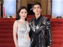 Á hậu Phương Nga mặc váy xẻ gợi cảm, tình tứ bên bạn trai Bình An trên thảm đỏ