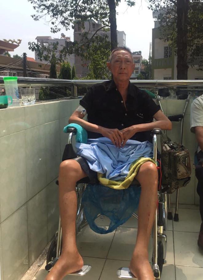 Con trai nghệ sĩ Lê Bình: Ba tôi sốt cao, mê man nhưng chưa hôn mê-2