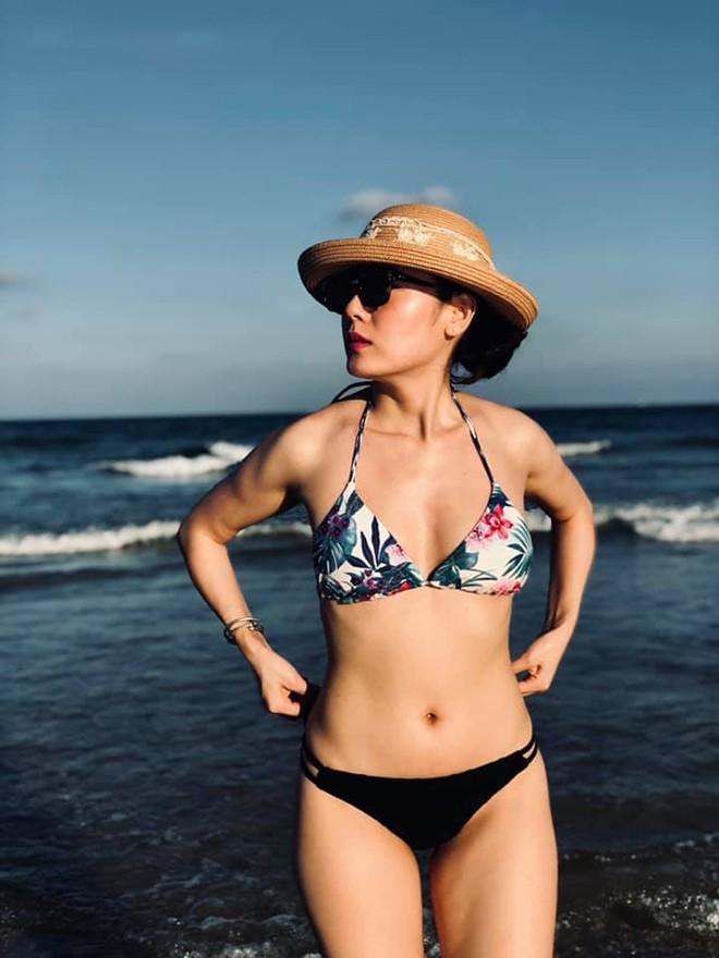 Phương Linh khoe loạt ảnh bikini mới, để lộ nhược điểm-1