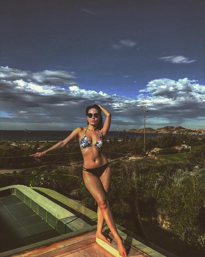 Phương Linh khoe loạt ảnh bikini mới, để lộ nhược điểm-4