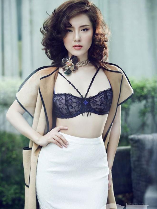 Phương Linh khoe loạt ảnh bikini mới, để lộ nhược điểm-9