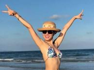 Phương Linh khoe loạt ảnh bikini mới, để lộ nhược điểm
