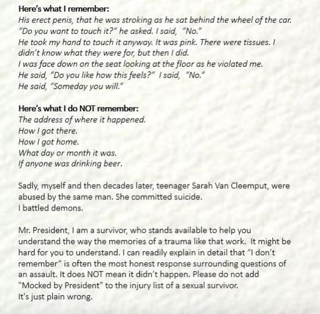 """Mỹ nhân Những bà nội trợ kiểu Mỹ"""": Đau đớn và ám ảnh khi bị chính người chú ruột lạm dụng tình dục nhiều lần tại bãi đỗ xe-7"""