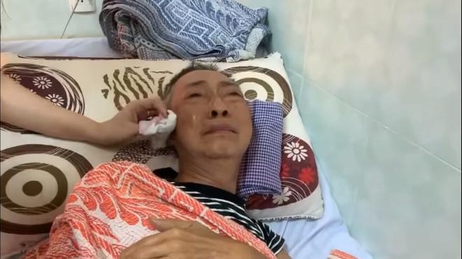 Nghệ sĩ Lê Bình 3 ngày không ăn, đau đớn bật khóc khi Đại Nghĩa, Trịnh Kim Chi đến thăm-4