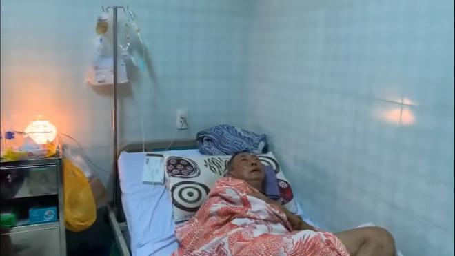 Nghệ sĩ Lê Bình 3 ngày không ăn, đau đớn bật khóc khi Đại Nghĩa, Trịnh Kim Chi đến thăm-2