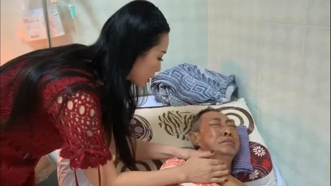 Nghệ sĩ Lê Bình 3 ngày không ăn, đau đớn bật khóc khi Đại Nghĩa, Trịnh Kim Chi đến thăm-3