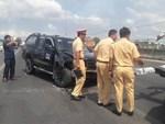 Đại uý CSGT bị côn đồ ép ngã xe thiệt mạng: Nỗi đau tột cùng của vợ trẻ, con thơ-6