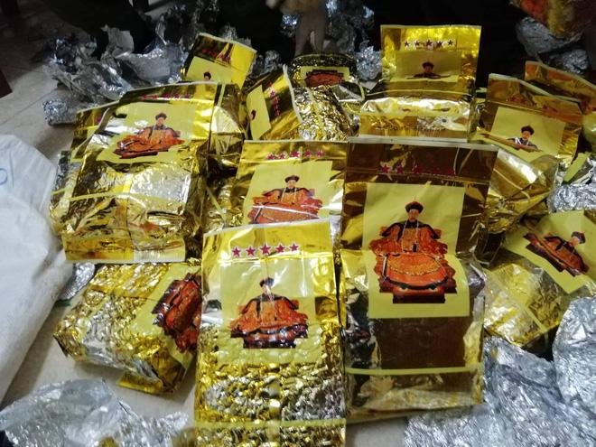 Vụ bắt giữ gần 1 tấn ma túy đá ở Nghệ An: Từ đống rác ven đường đến nhà kho toàn loa thùng-5