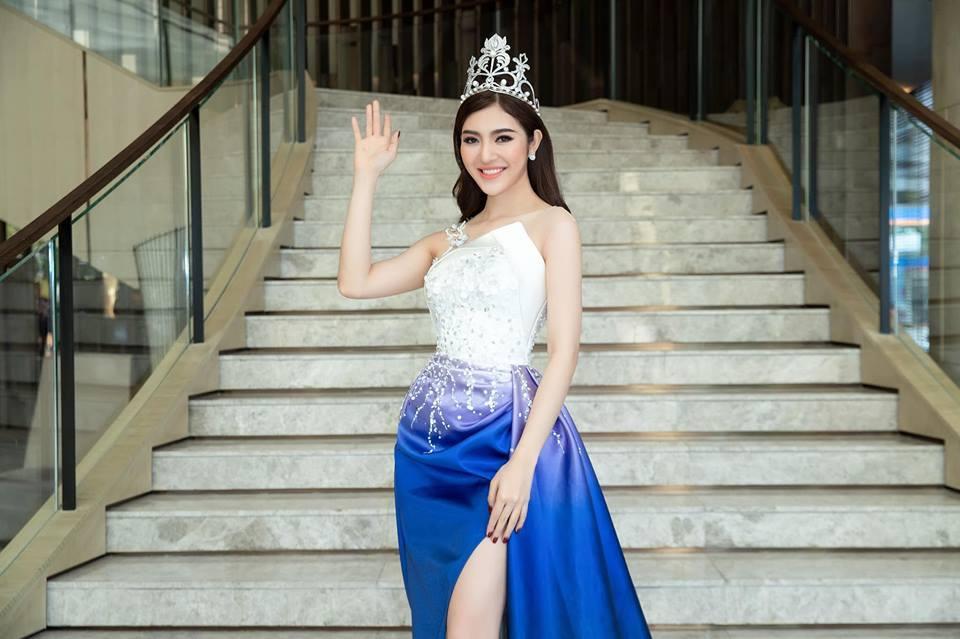 Nhan sắc nóng bỏng của Hoa hậu Việt lên truyền hình tìm người yêu-3