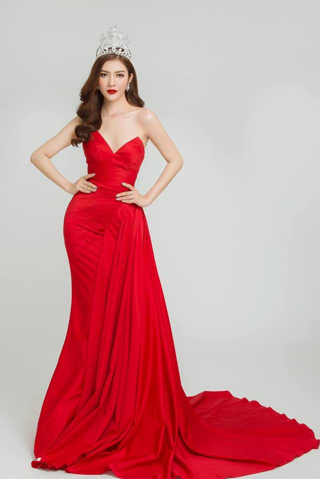 Nhan sắc nóng bỏng của Hoa hậu Việt lên truyền hình tìm người yêu-4