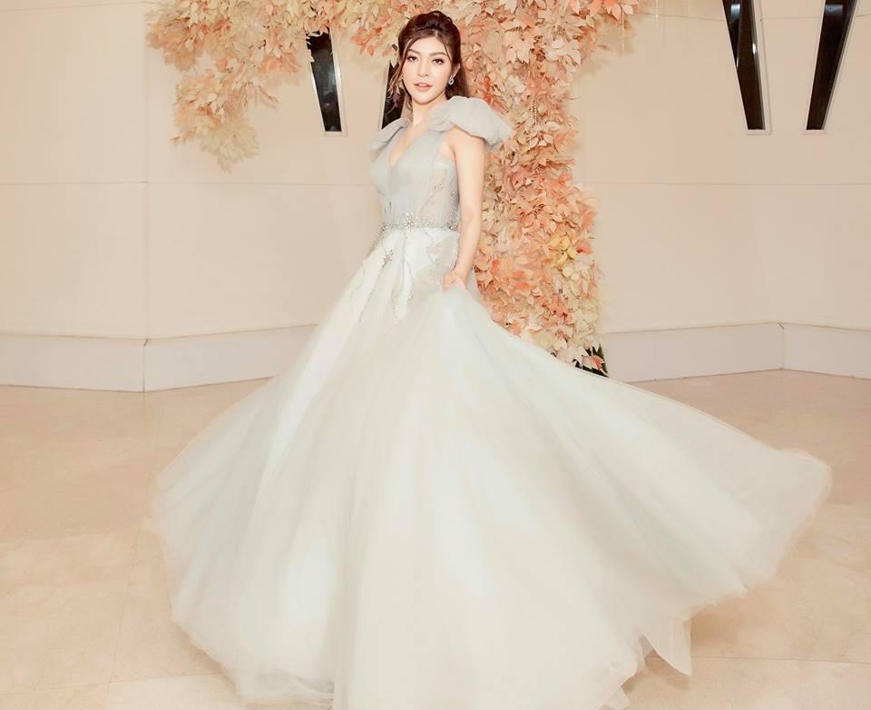 Nhan sắc nóng bỏng của Hoa hậu Việt lên truyền hình tìm người yêu-7