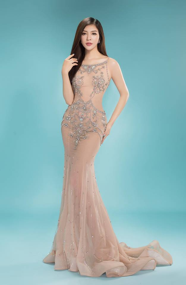 Nhan sắc nóng bỏng của Hoa hậu Việt lên truyền hình tìm người yêu-9